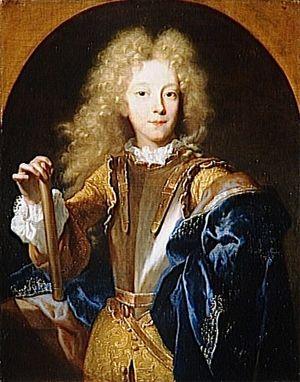 Duc de Lesdiguieres enfant par Rigaud-1687-Louvre