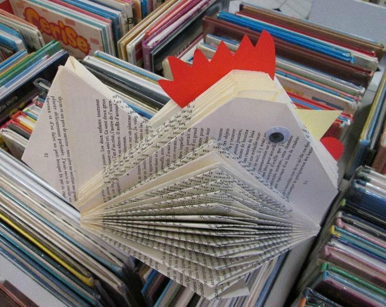 Ne jetez pas vos vieux livres encore une idée