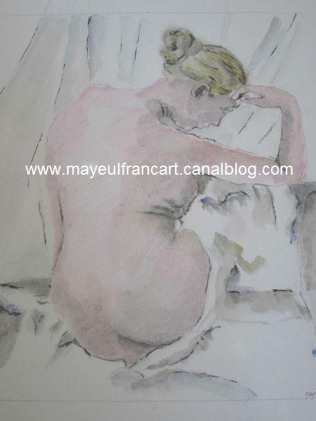 Le femme nue