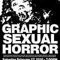 Graphic Sexual <b>Horror</b> (Bondage et sadomasochisme extrêmes)