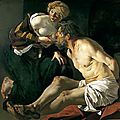 Dirck van Baburen (c.1595–1624), Roman Charity, Cimon and <b>Pero</b>, 1618–1624