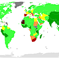 Unemployment rate in the world by country