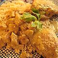 Poulet à l'indienne ou curry de poulet