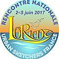 Rencontre Nationale UrbanSketchers France Lorient 2 au 5 Juin 2017