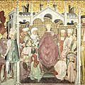 17 - Zavattari fresque du Duomo de MONZA 1444 - Théodelinde couronnée reine de Lombardie - museoduomomonzadotit