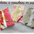 Pochettes pour mouchoirs en papier