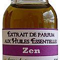 Extrait de parfum zen - perfume extract zen