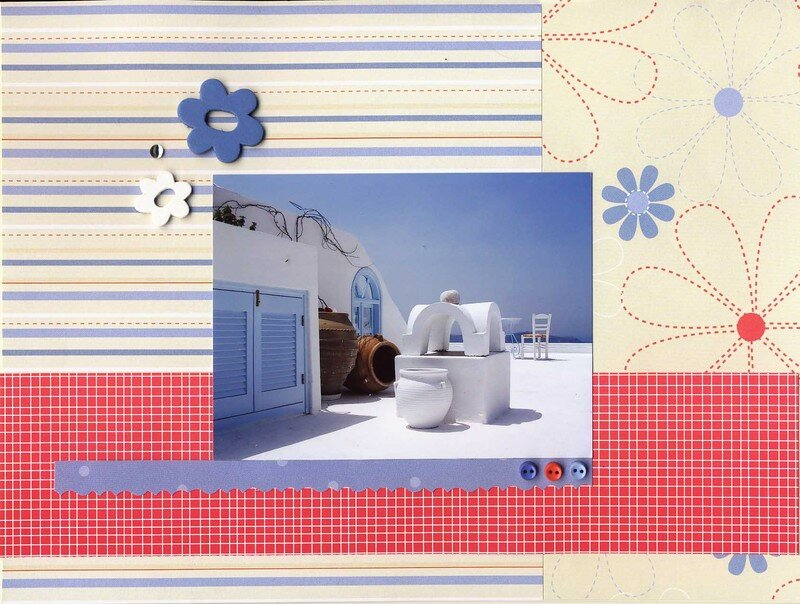 Iles grecques (26) la terrasse