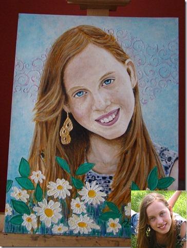 portrait d'une jeune ado