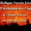 La relique sacrée livre i : le parchemin des cagots de philippe pourxet aux ed. assyelle