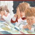 La prière en famille