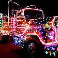 Noël aussi pour les camions - etats-unis