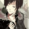 Izaya with kitty