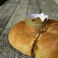 Brioche des rois à la crème d'amande-pistache
