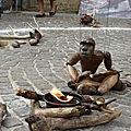 Festival des marionnettes: la naissance de l'homme