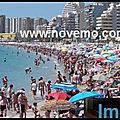 Espagne : <b>Image</b> du <b>Jour</b> : Littoral espagnol - Costa Blanca : Tourisme : <b>Jour</b> 15 du déconfinement : Coronavirus (Covid 19)