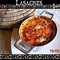 Lasagnes fraîches