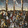 <b>Lucas</b> <b>Cranach</b> <b>the</b> <b>Younger</b> (Wittenberg 1515 - 1586), <b>The</b> Crucifixion.