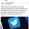 Tweetter : Le non sens en action