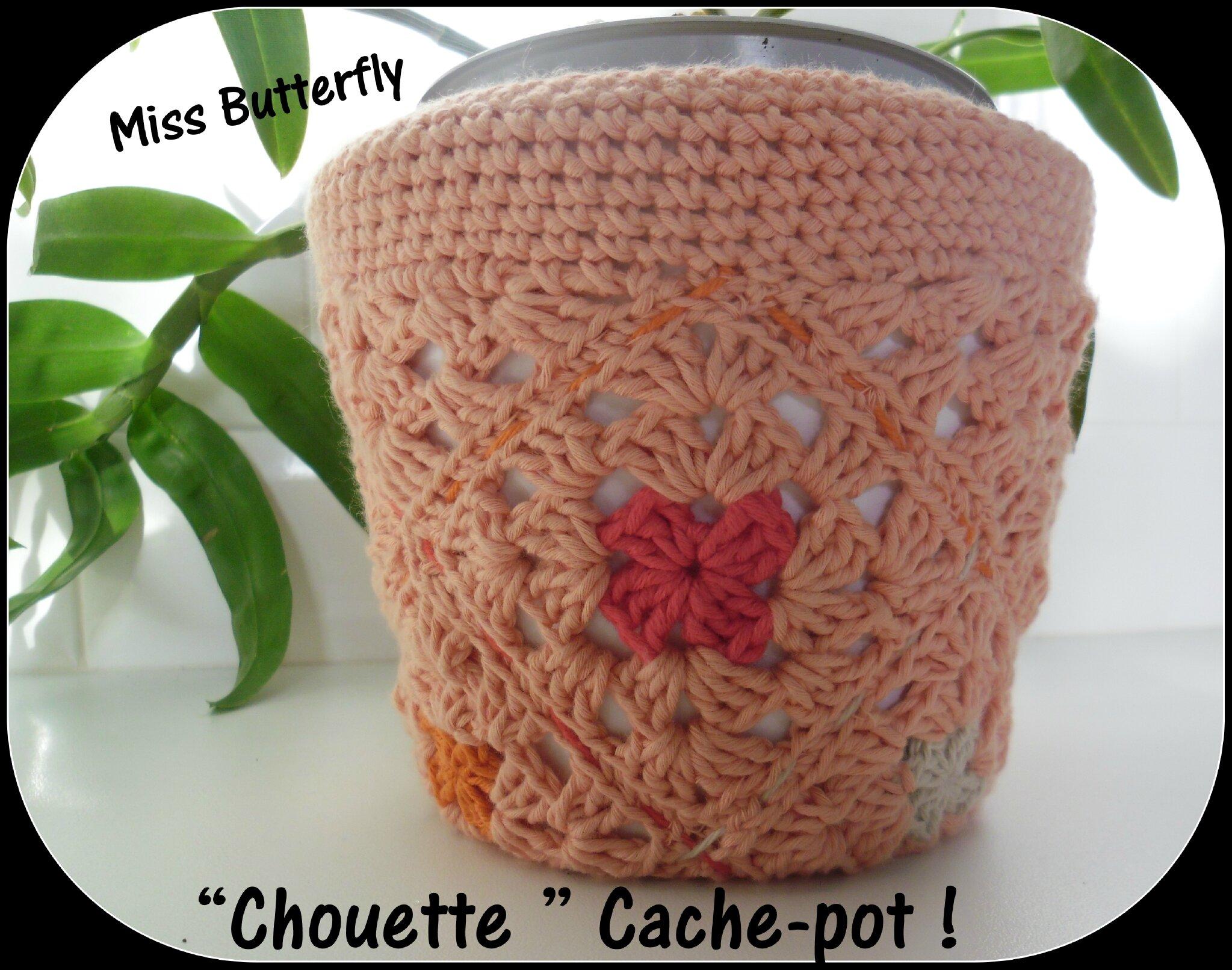 chouette cache-pot