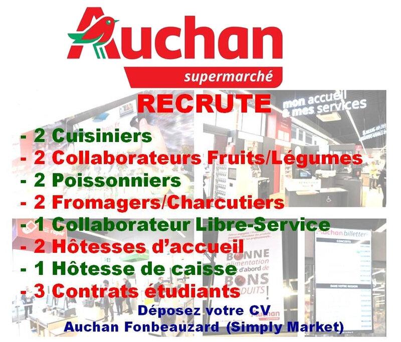 AUCHAN Supermarché - Fonbeauzard