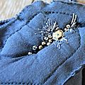 détail sac april showers customisé