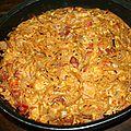 Frittata pancetta, spaghetti