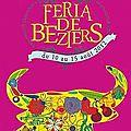 <b>béziers</b> : affiche de la <b>féria</b> 2012