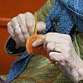 Crochet along : a la manière de vasarely