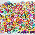 Couverture crochet : Ma couverture <b>sunburst</b> en crochet - Partie 3