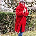 Le <b>manteau</b> rouge