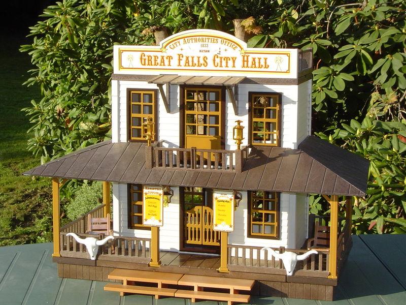 Great Falls City Hall Playmobil 174 Tuning Western En