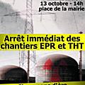 manifestation anti-<b>THT</b> à Avranches samedi 29 septembre 2012 - photos et vidéo