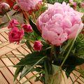 Pivoines et roses d'Isabelle