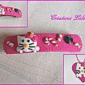 267 - Ensemble Hello Kitty rose