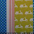 echino scooter yellow
