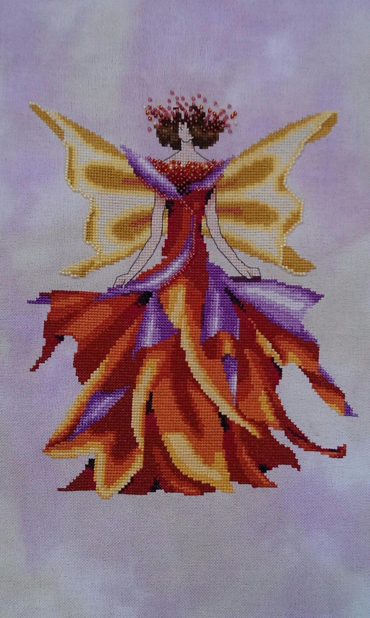 Fairy autumn , finie 'fin mai 2017