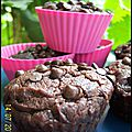 Muffins choco comme mc do