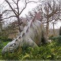 Dinosaure du jardin des Plantes