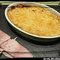 Gratin de betteraves rouges