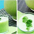 Soupe froide concombre pomme granny by cojean