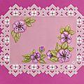 fleurs en lilas d'après le livre Jardin d'agrément ( juin 2011)