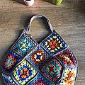 [<b>Crochet</b>] Sac cabas en granny