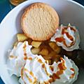 Délicieux dessert facile et rapide - <b>pommes</b> caramel au beurre salé
