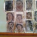 Nos portraits en dessin dirigé