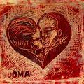gravure amour de l amour, bogota, colombie