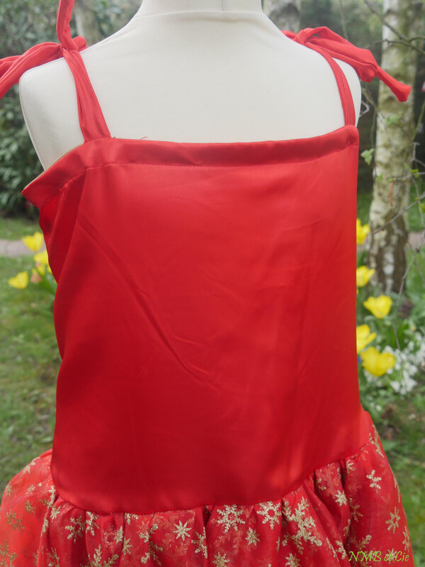 P&M Babydoll bustier rouge