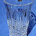 Vase cristal St Louis Tommyssimo