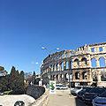 Départ de Pula (<b>Istrie</b>, Croatie) pour Venise (Italie) - Vendredi 19 mars 2021 - Training cruise from Biograd na Moru to Venice