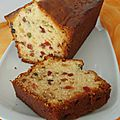 Cake aux <b>fruits</b> <b>confits</b>